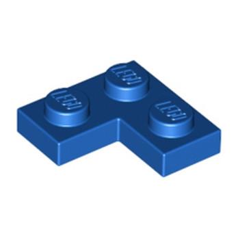 LEGO 242023 PLATE ANGLE 1X2X2 - BLEU