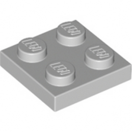 LEGO 4211397 PLATE 2X2 - MEDIUM STONE GREY