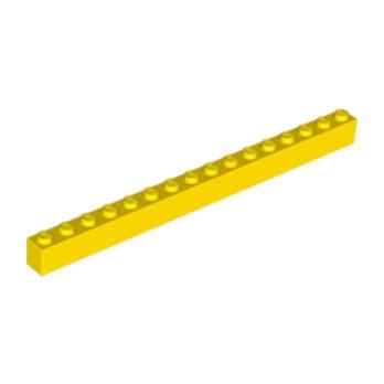 LEGO 246524 BRIQUE 1X16 - JAUNE