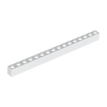 LEGO 246501 BRICK 1X16 - WHITE