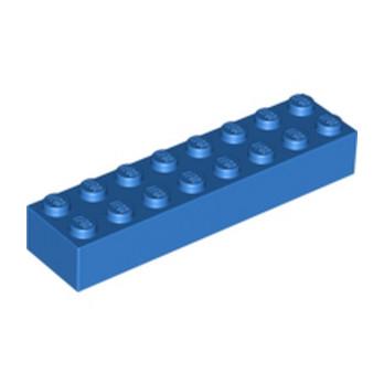 LEGO 300723 BRIQUE 2X8 - BLEU