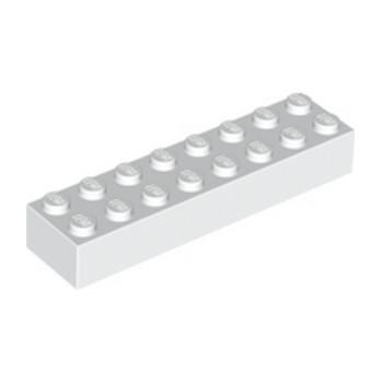 LEGO 6033776 BRICK 2X8 - WHITE
