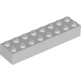 LEGO 4211391 BRIQUE 2X8 - MEDIUM STONE GREY