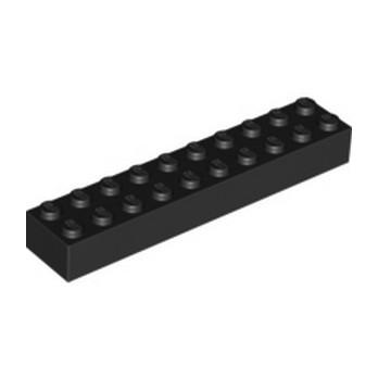 LEGO 4617860 BRICK 2X10 - BLACK
