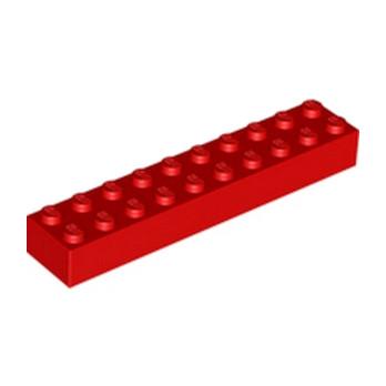 LEGO 300621 BRIQUE 2X10 - ROUGE