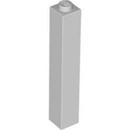 LEGO 4211362  BRIQUE 1X1X5 - MEDIUM STONE GREY
