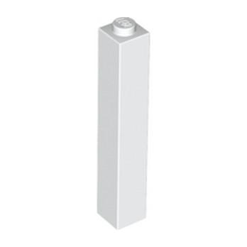 LEGO 245301 BRICK 1X1X5 - WHITE