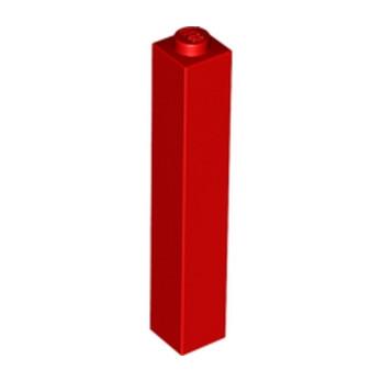 LEGO 245321 BRIQUE 1X1X5 - ROUGE