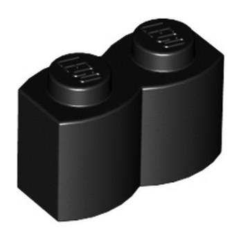 LEGO 4112580 BRIQUE PALISSADE 1X2 - NOIR lego-4644456-brique-palissade-1x2-noir ici :