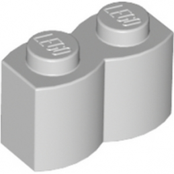 LEGO 4550325 PALISADE BRICK 1X2 - MEDIUM STONE GREY