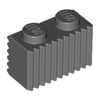 LEGO 4210636 PROFILE BRICK 1X2 - DARK STONE GREY