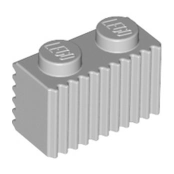 LEGO 4211383 PROFILE BRICK 1X2 - MEDIUM STONE GREY