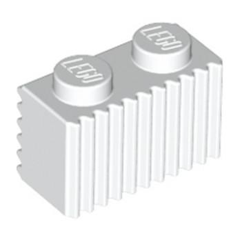 LEGO 287701 PROFILE BRICK 1X2 - WHITE