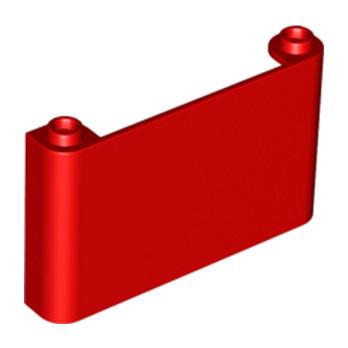 LEGO 4585642 PARE BRISE 1X6X3 - ROUGE