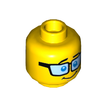 LEGO 6182305 - TÊTE  HOMME