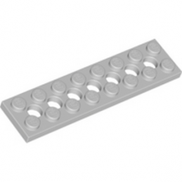 LEGO 4211449 PLATE 2X8 - MEDIUM STONE GREY