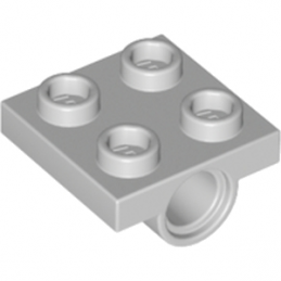 LEGO 4211359 TECHNIC BEARING PLATE 2X2 - MEDIUM STONE GREY