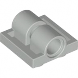 LEGO 4211376 TECHNIC DOUB. BEARING PL. 2X2 - MEDIUM STONE GREY
