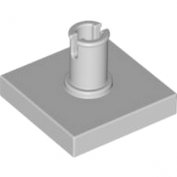 LEGO 4211365 PLATE 2X2 W. VERTICAL SNAP - MEDIUM STONE GREY