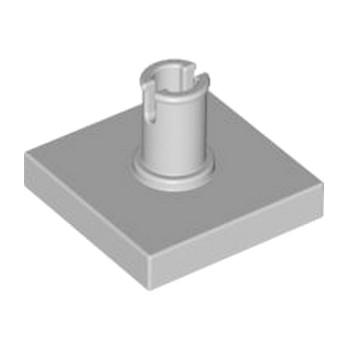LEGO 4211365 PLATE 2X2 W. VERTICAL SNAP - MEDIUM STONE GREY