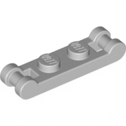 LEGO 6093058  PLATE 1X2 DOUBLE - MEDIUM STONE GREY