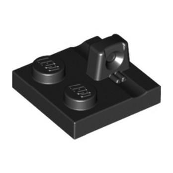 LEGO 4613759 PLATE 2X2 - BLACK lego-4613759-plate-2x2-black ici :