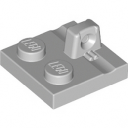 LEGO 4666449 PLATE 2X2 - MEDIUM STONE GREY