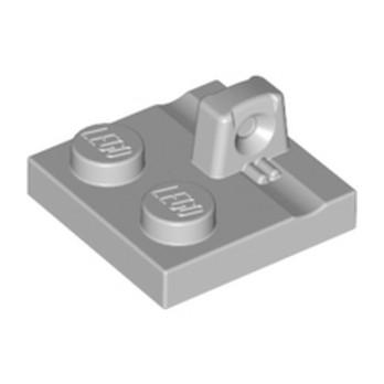 LEGO 6265742 PLATE 2X2 - MEDIUM STONE GREY lego-6265742-plate-2x2-medium-stone-grey ici :