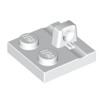 LEGO 4613762 PLATE 2X2 - BLANC