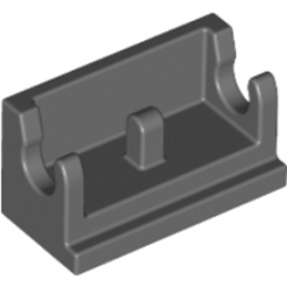 LEGO 4211066 ROCKER BEARING 1X2 - DARK STONE GREY