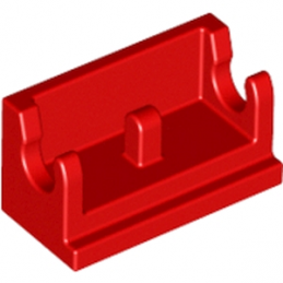 LEGO 393721 ROCKER BEARING 1X2 - ROUGE