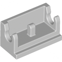LEGO 4211469 ROCKER BEARING 1X2 - MEDIUM STONE GREY
