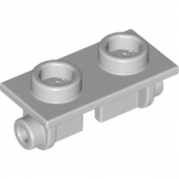 LEGO 4211470 PLATE 1X2 (ROCKING) - MEDIUM STONE GREY