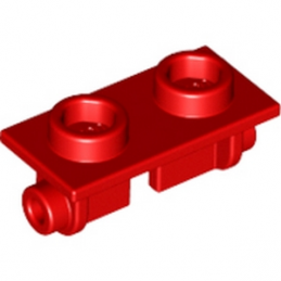 LEGO 393821 PLATE 1X2 (ROCKING) - ROUGE
