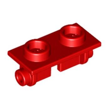 LEGO 393821 PLATE 1X2 (ROCKING) - ROUGE