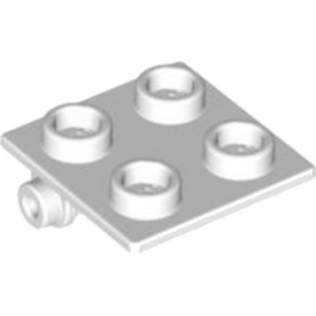 LEGO 4612342  PLATE 2X2 (ROCKING) - BLANC