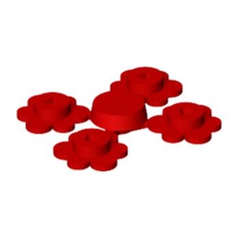 LEGO 4106915 FLEUR X4 - ROUGE