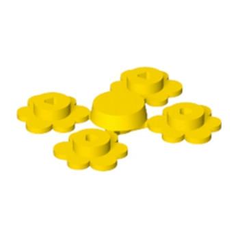 LEGO 4599537 FLEUR X4 - JAUNE