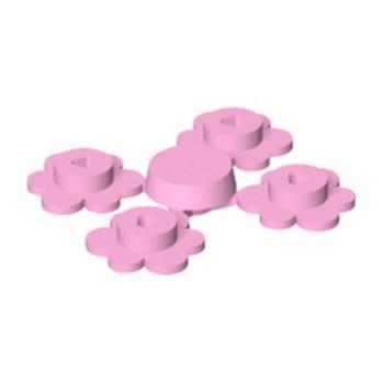 LEGO 6000294 FLEUR X4 - ROSE CLAIR