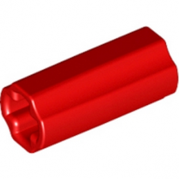 LEGO 4513174 CROSS AXLE, EXTENSION, 2M - ROUGE