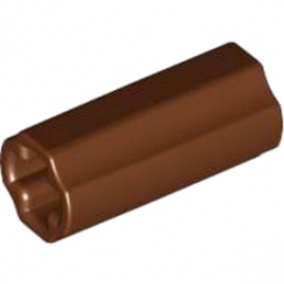 LEGO 4531751 CROSS AXLE, EXTENSION, 2M - REDDISH BROWN