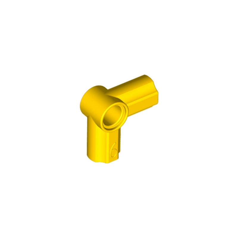 LEGO 4107069 ANGLE ELEMENT, 90 DEGREES [6] - JAUNE