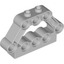 LEGO 6271360 V-ENGINE HOLDER - MEDIUM STONE GREY