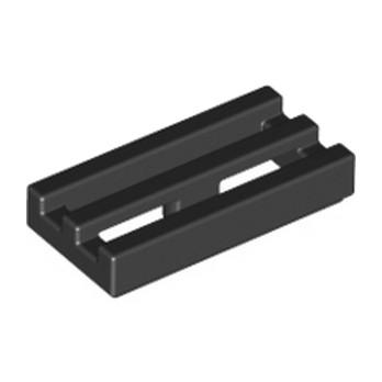 LEGO 241226  RADIATOR GRILLE 1X2 - NOIR lego-241226-grille-1x2-noir ici :