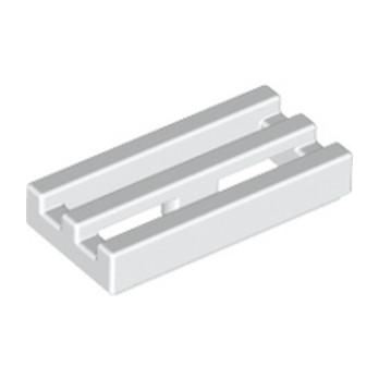 LEGO 241201 RADIATOR GRILLE 1X2 - BLANC lego-241201-grille-1x2-blanc ici :