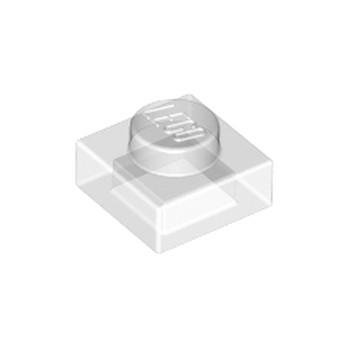LEGO 302410 PLATE 1X1 - TRANSPARENT lego-6252041-plate-1x1-transparent ici :