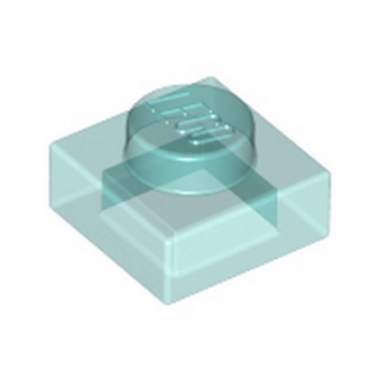 LEGO 6051920 PLATE 1X1 - BLEU TRANSPARENT