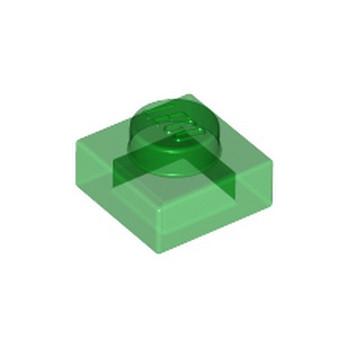 LEGO 302448 PLATE 1X1 - VERT TRANSPARENT lego-6252046-plate-1x1-vert-transparent ici :