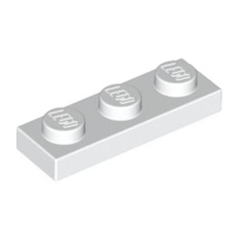LEGO 362301 PLATE 1X3 - BLANC