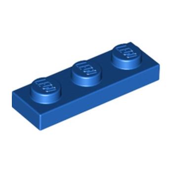 LEGO 362323 PLATE 1X3 - BLEU
